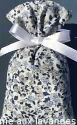 Petit sachet de fleurs de Lavande Petites fleurs bleues-gris