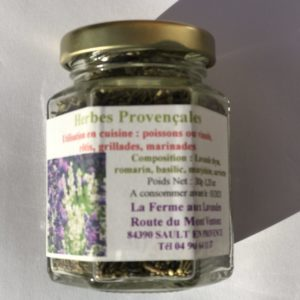 Herbes de Provence & Mélange d'Aromatiques pour la cuisine (sans lavande)