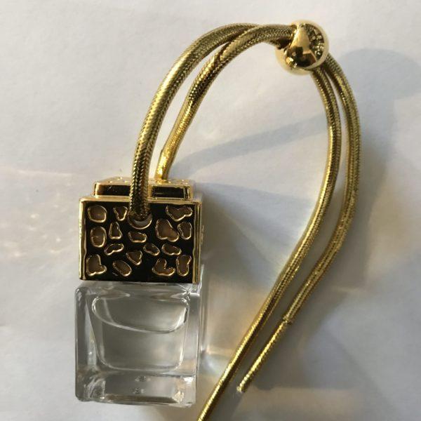 Flacon diffuseur bouchon doré