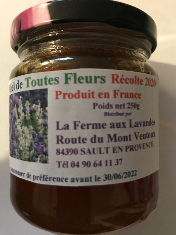 Miel de Toutes fleurs