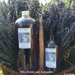 Savon de Marseille Liquide à L'huile essentielle de Lavande Maillette